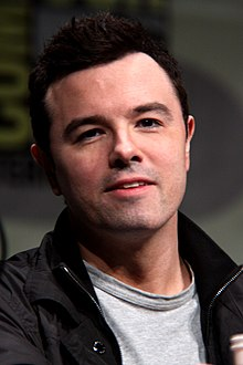 Seth McFarlane på San Diego Comic-Con International juli 2012.