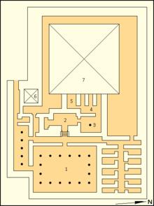 Аннотированная карта комплекса Сетибхора