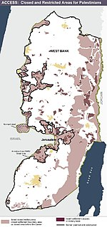 Israeli occupation of the West Bank 1967–present military occupation of the West Bank by Israel