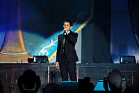 Seulong at the 2008 Korea Food Expo opening ceremony.jpg