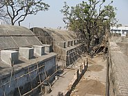 Sewri fort courtyard