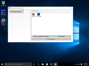 Shade sandbox - Image: Shade sandbox screenshot