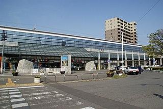 Imabari Station Railway station in Imabari, Ehime Prefecture, Japan