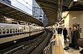 Shinkansen platform in Tokyo.jpg