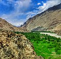 Shyok Valley entrance to Hushe Valley in Ghangche District of Gilgit–Baltistan.jpg
