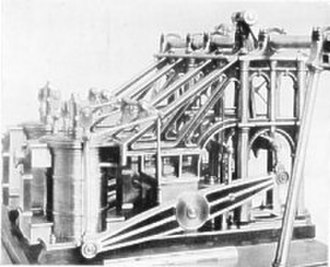 SS Mona's Isle (1830) - Side Lever Napier Engine as fitted to Mona's Isle