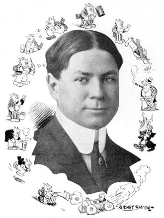 Sidney Smith (cartoonist) - Portrait circa 1912