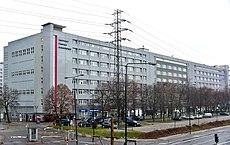 Siedziba Instytutu Pamięci Narodowej przy ul.  Wołoskiej 7 w Warszawie styczeń 2019.jpg