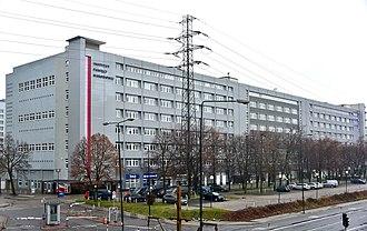 Institute of National Remembrance - Image: Siedziba Instytutu Pamięci Narodowej przy ul. Wołoskiej 7 w Warszawie styczeń 2019