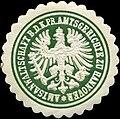 Siegelmarke Amtsanwaltschaft bei dem Königlich Preussischen Amtsgerichte zu Hannover W0212184.jpg