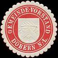 Siegelmarke Gemeinde-Vorstand Döbern-Nieder-Lausitz W0334246.jpg