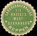 Siegelmarke Landkrankenkasse des Kreises Weststernberg - Reppen W0260326.jpg