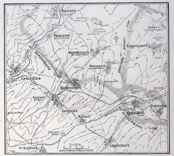 Siegfriedstellung defences, Bullecourt, 1917
