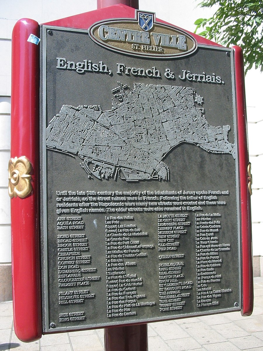 Languages of Jersey
