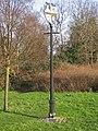 Sign at Crofton - geograph.org.uk - 666791.jpg