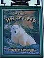 Sign for the White Bear, Stillington - geograph.org.uk - 591048.jpg