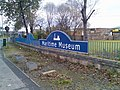Sign on main road for Maritime Museum - geograph.org.uk - 620088.jpg