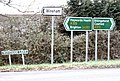 Signposts at A272, Spronkett's Lane junction. - geograph.org.uk - 86090.jpg