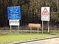 Signs, A494 Loggerheads, Denbighshire, DSC05438.JPG