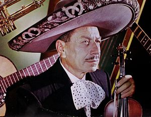 Music of Mexico - Silvestre Vargas (1981–85), violins and musician of the Mariachi Vargas from 1921 to 1975, director from 1931 to 1955.