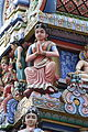 Singapore. Sri Mariamman. Gopuram. South East-18.JPG