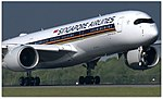 Singapore Airlines A350-941 (9V-SMG) landing at Manchester Airport (1).jpg