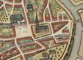 Sint-Niklaaskerk 1640 Sanderus Flandria Illustrata.png