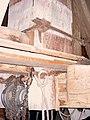 Sint Willebrordus molen standerd op kruisplaten Bakel.jpg