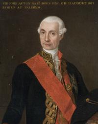 Sir John Acton, 6th Baronet - Wikipedia
