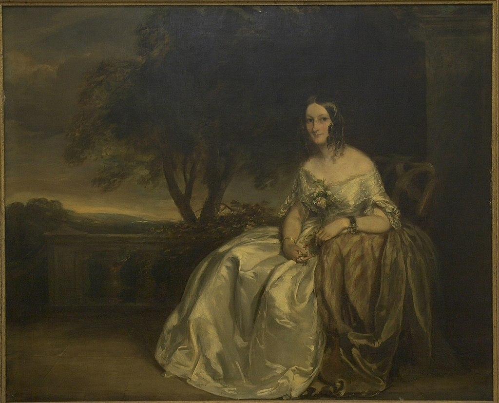 Сэр Фрэнсис Грант - Джейн Уолли, урожденная Коап - 1995-116 - Художественный музей Принстонского университета.jpg