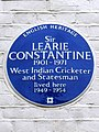 Sir LEARIE CONSTANTINE 1901-1971 West Indian Cricketer and Statesman lived here 1949-1954.jpg