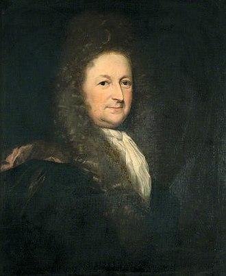 Richard Levett - by Godfried Schalcken, 1699