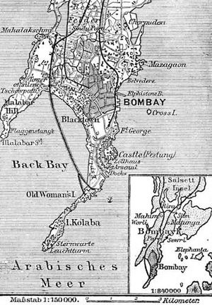 Timeline of Mumbai - Mumbai in 1888