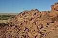 Skály v okolí Brandberg White Lady Lodge - Namibie - panoramio.jpg