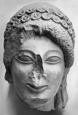 Skulptur, kalksten - SMVK - C06420.tif