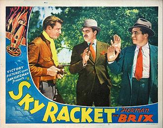 Sky Racket - Lobby card