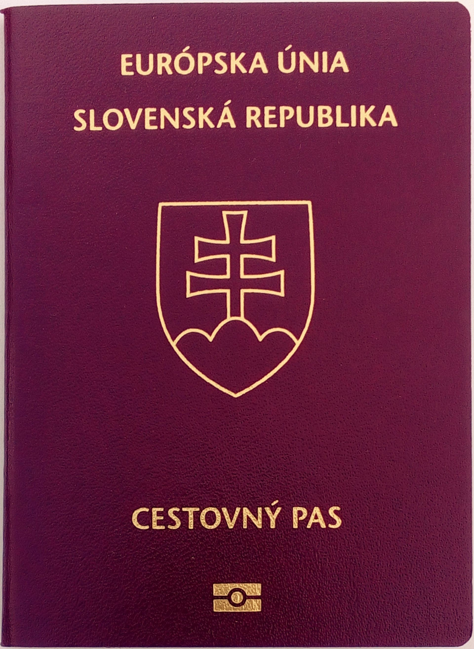 Slovak Passport Wikipedia