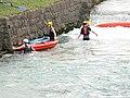 Slovenia Ajdovscina Hubelj river canoeing ... !? (3413672648).jpg