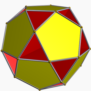 Small dodecahemidodecahedron - Image: Small dodecahemidodecahedr on