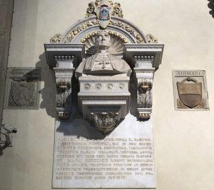 Agostino Bausa - Image: Smn, navata dx, cesare zocchi, busto di agostino bausa, 1904