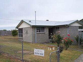Snug, Tasmania - Snug CWA House.