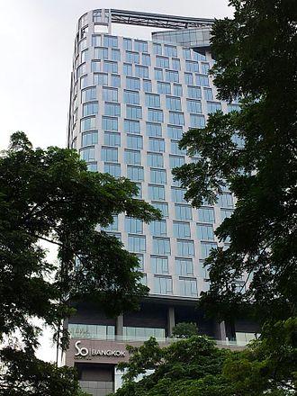 AccorHotels - SO Sofitel Bangkok, as seen from Lumpini Park