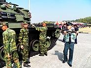 Soldiers Taken out Machine Guns of CM-12 Tank 20120211