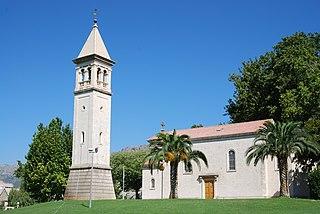 Solin Town in Split-Dalmatia, Croatia