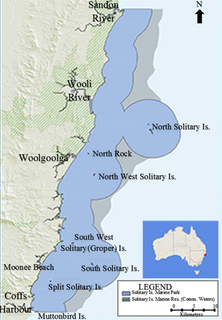 Marine protected area in New South Wales, Australia