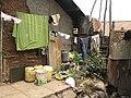 Somebody's house-yard next to the school toilets. (10444348456).jpg
