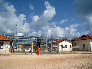 Economy of Tanzania - Songo Songo Gas Plant