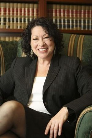Judge Sonia Sotomayor in 2009. Part of a White...