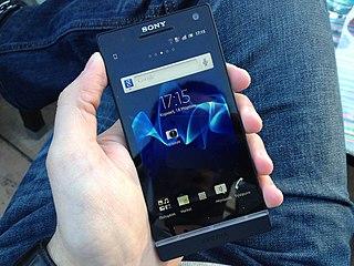 Sony Xperia S smartphone model