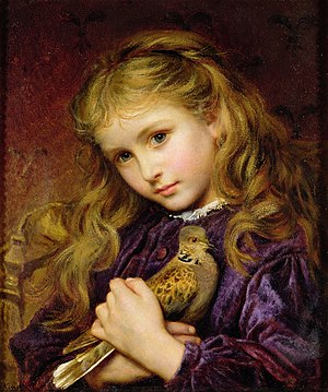 European turtle dove - The Turtle Dove by Sophie Gengembre Anderson.